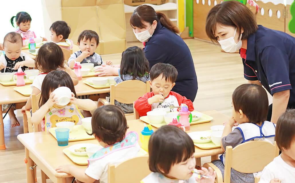 アレルギー食の対応|みらいのもり保育園