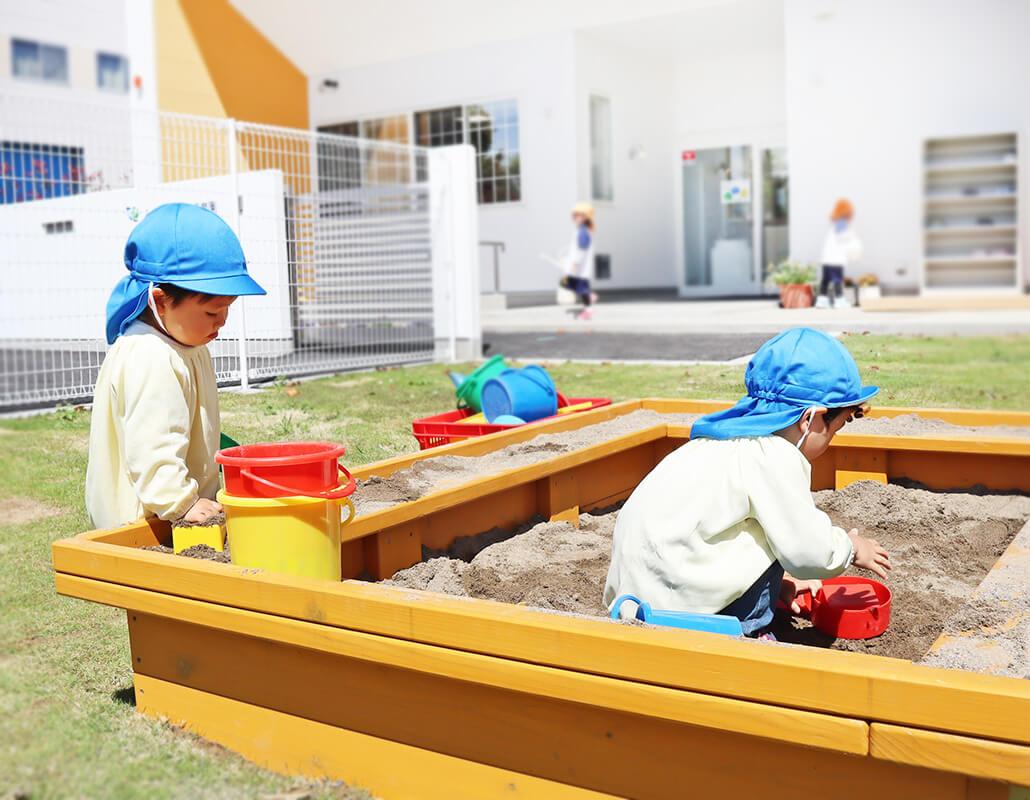 発達を促す環境構成を大切に|みらいのもり保育園
